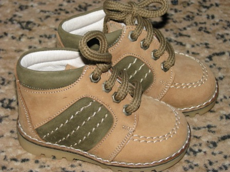Ботинки кожанные VERO CUOIO р-р 18,21 : Цена 175 грн.